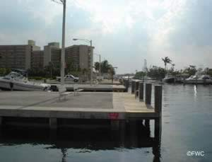 staging s docks at alsdorf boat launching ramp