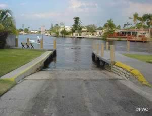 colohatchee boat ramp in wilton manors florida