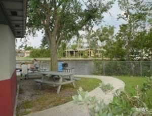 fish and picnic at the colohatchee boat ramp in wilton manors fl