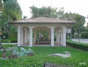 picnic pavilion at cooley's landing fort lauderdale