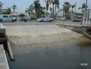 easy saltwater access from the hollywood marina ramp broward county florida
