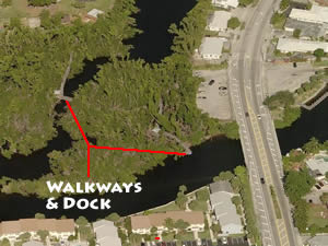 colohatchee park fishing dock and walkways