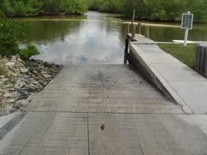 ainger creek boat launching ramp near grove city fl