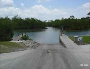 ainger creek boat launching ramp near grove city fl