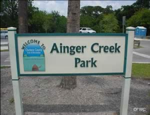 Englewood florida ainger creek saltwater boat ramp