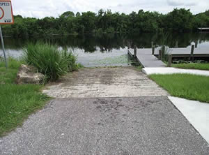 butterford boat ramp