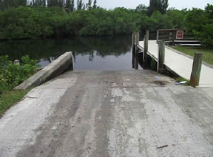 boat ramp on the peace river punta gorda