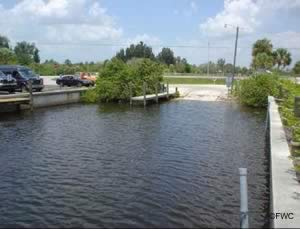 boat ramp near port charlotte on myakka river