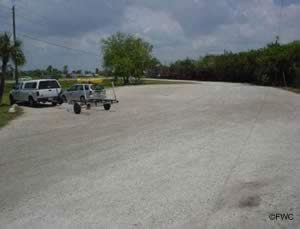 parking at el jobean boat ramp