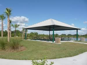 pavilion at south gulf cove park