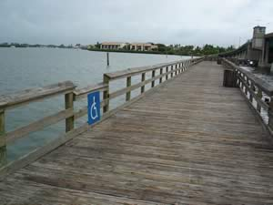 fishing pier near Intracoastal bridge englewood florida