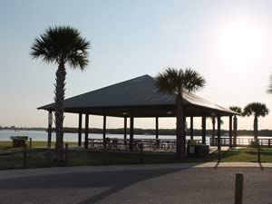 pavilion chadwick park fishing pier on lemon bay