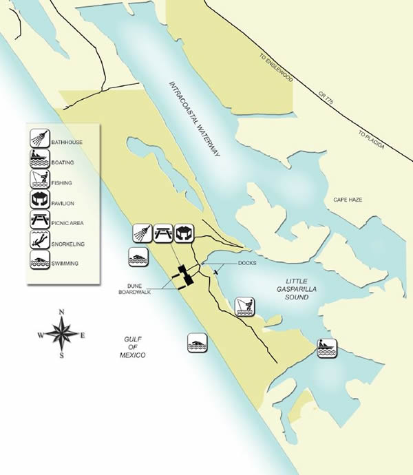 map of don pedro state park