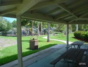 picnic at bayview park along the naples river