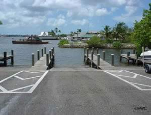 naples landing boat ramp naples bay