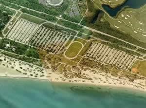crandon park aerial view