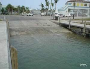 fairly easy access to biscayne bay and hawk channel from barry kutun ramp