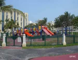playground for the kids at barry kutun