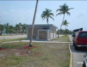 restrooms at crandon park ramp