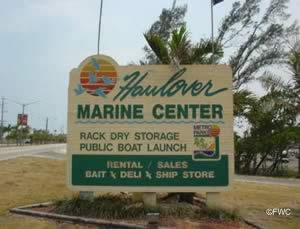 haulover park sign