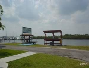 fish cleaning area at homestead bayfront ramp