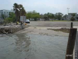 Miami florida boat ramp