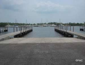 Coral Gables boat ramp