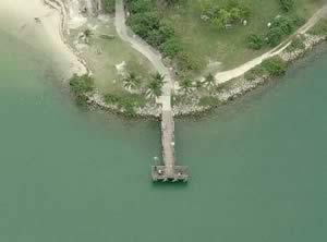 oleta state park fishing pier