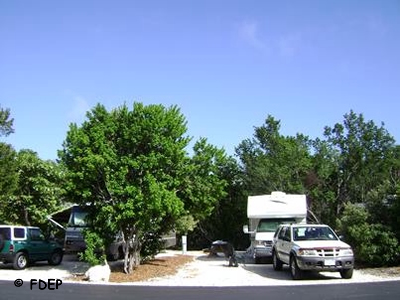rv camping pennekamp coral reef state park