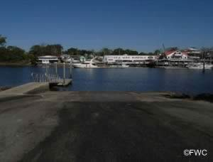 jena public saltwater boat ramp