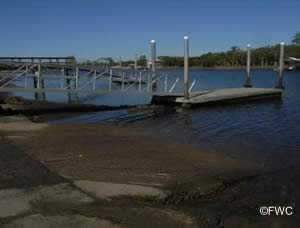 launching ramp for boats in jena