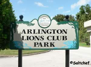 arlington lions club entrance