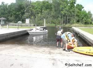 boat ramp kayak launch on beach boulevard jax fl