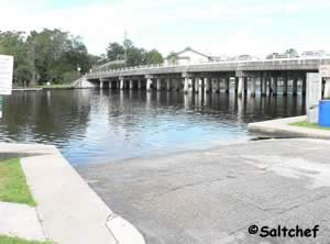 west side jacksonville florida boat ramp