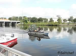 start your fishing from goodbys ramp in jacksonville