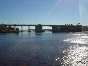 view of the intercoastal waterway from the boat launching ramp