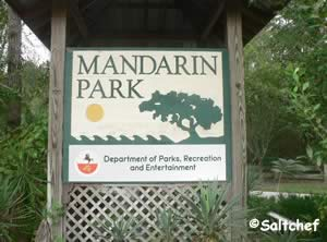 entrance to mandarin park florida 32223