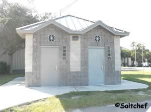 restrooms at scanlon boat ramp in mayport florida
