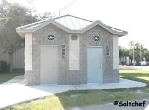 restrooms at scanlon boat ramp in mayport florida