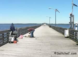 pier near shands bridge green cove springs florida