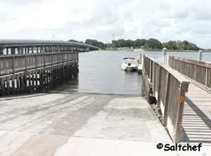 boat ramp at palms fish camp jax florida