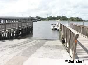 boat ramp at palms fish camp jax florida