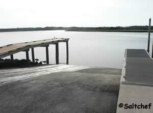 sawpit boat ramp at big talbot state park