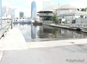boat ramp downtown jacksonville fl