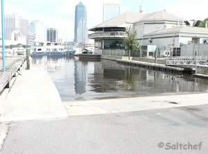 boat ramp downtown jacksonville fl