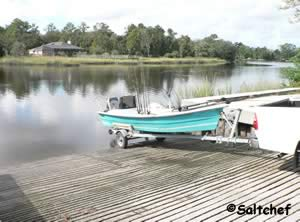 launch your fishing boat at stokes boat ramp jacksonville
