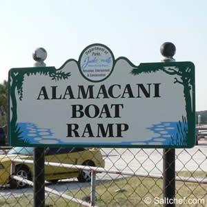 alamacani boat launch