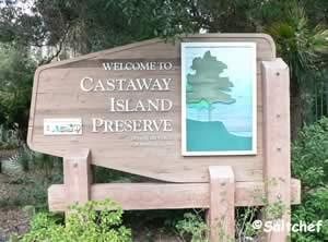 castaway island preserve entrance