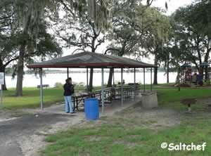 small pavilion at northshore park jax fl