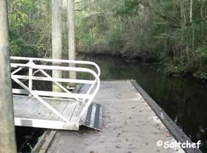 launch canoe / kayak at palmetto leaves south jacksonville